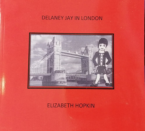 Delaney Jay in London by Elizabeth Hopkin