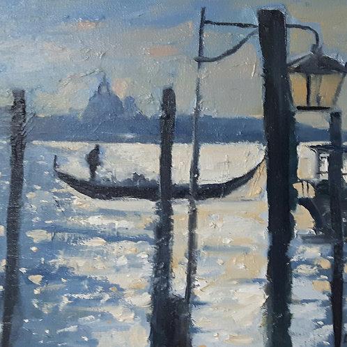 Floating on light, Venice
