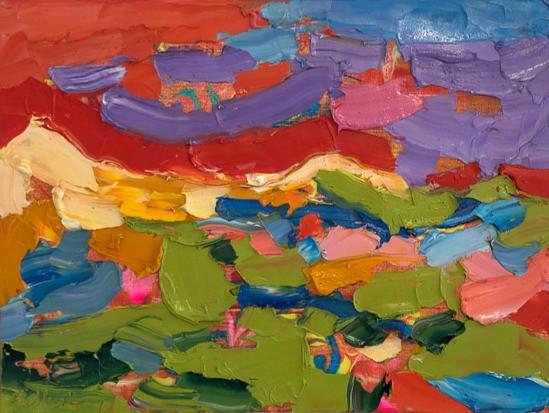 Eloise Govier - Peak Light on the Preselis