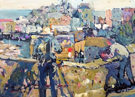 WE_Tenby_Painter_297_x210_mm_on_cradled_