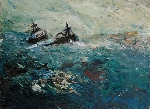 The Time Bandit in the Bearing Sea