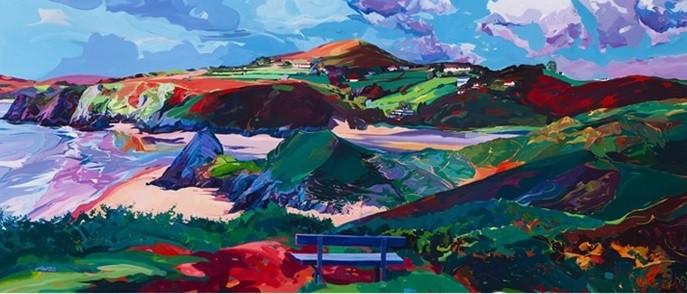 Michelle Scragg - Three Cliffs