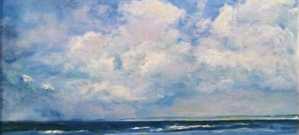 Brenda Evans - Blue Horizon, Aberavon