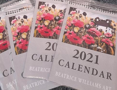 Beatrice Williams Calendar 2021