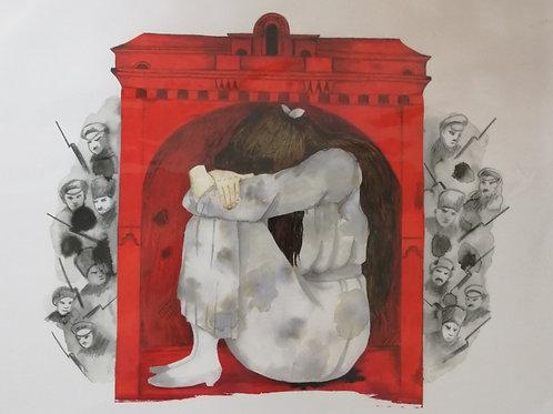 'House Arrest, Wonderland' Giclée Print