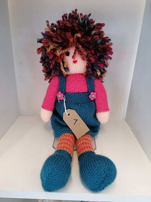 Knitted doll NEW007