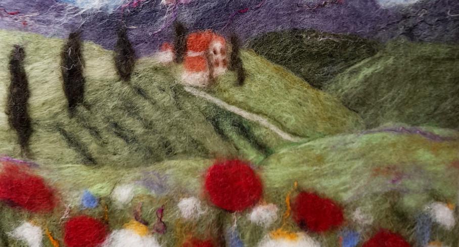 On Tuscany Hill