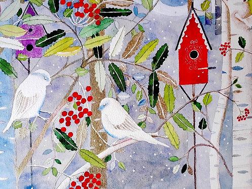 'Christmas Bird House'