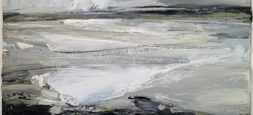 Beth Fletcher - Estuary at Low Tide