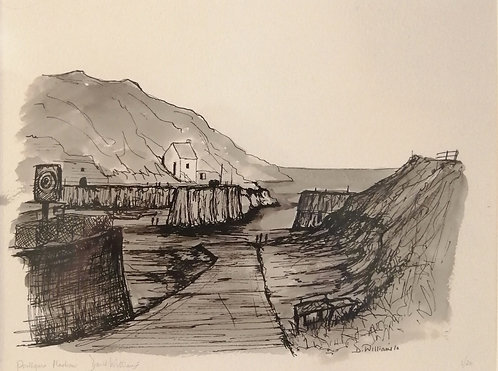 'Porthgain Harbour 2' Giclée Limited Edition Print