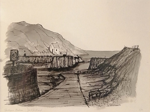 'Porthgain Harbour' Giclée Limited Edition Print
