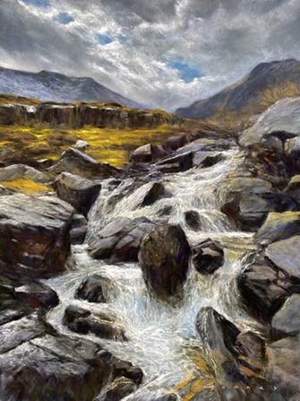 Afon Idwal Waterfall