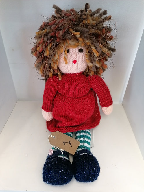 Knitted doll NEW001