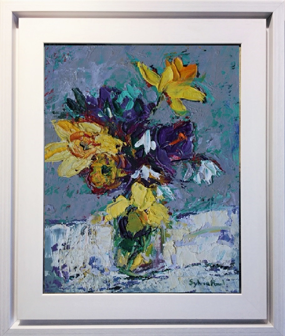 Spring Flowers framed