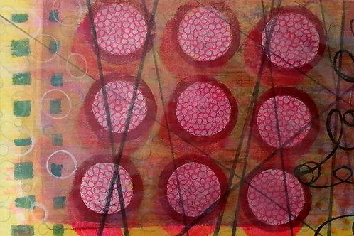 Gelli printing on fabric workshop with Bethan Ash BA015
