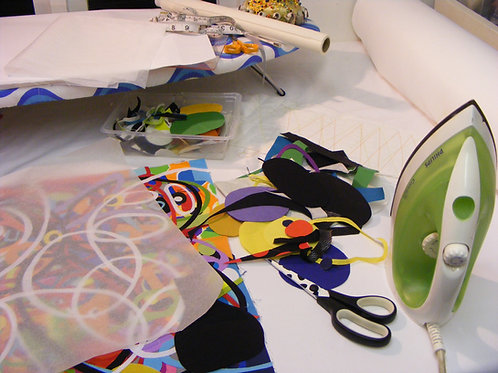Pattern, Shape, Colour Masterclass with Bethan Ash BA015