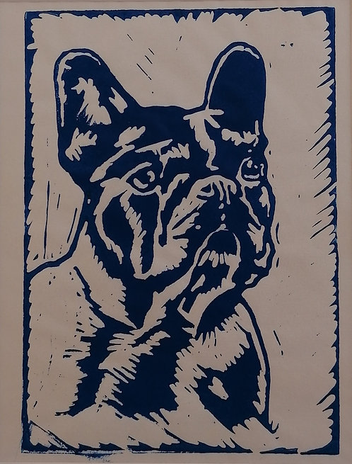 Frenchie 1 - blue