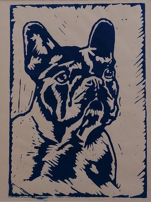 Frenchie 1 - blue