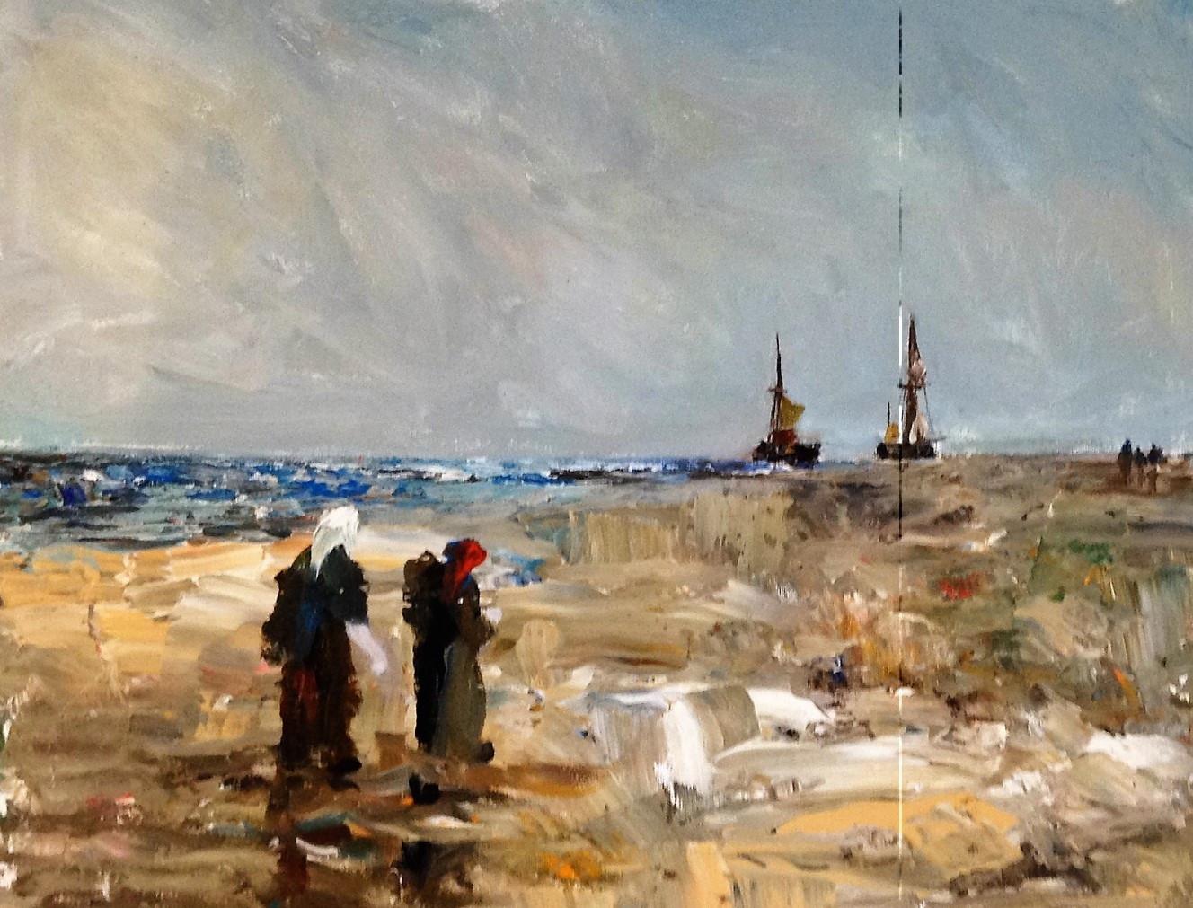 Lynnford Jones - Beach Workers