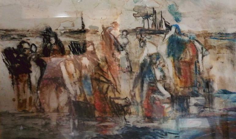Beach Workers II