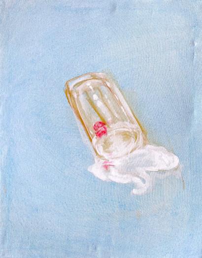 'The Spilt Glass of Milk'