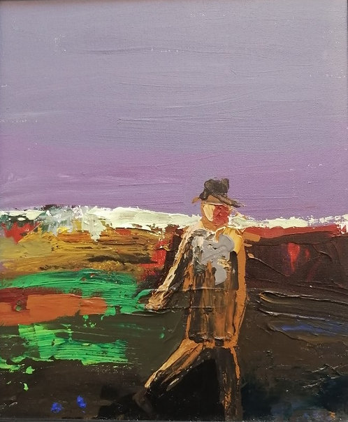 'Man in a Field'