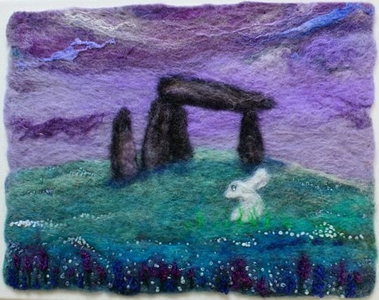 Pentre Ifan, White Hare