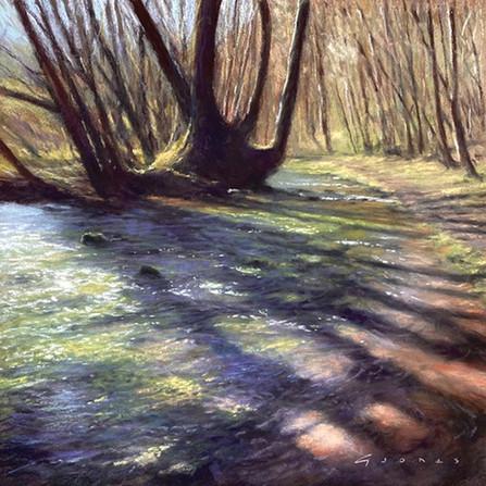 Shallow stream shadows