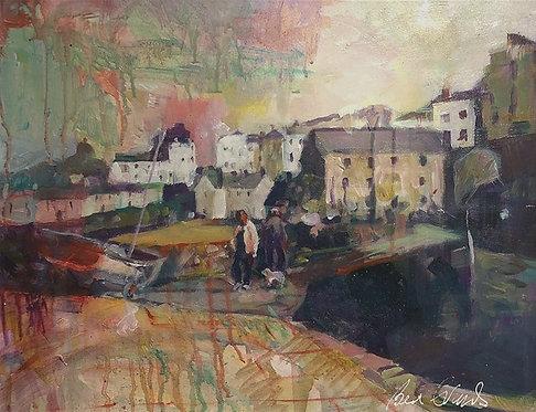 Tenby Harbour Awash