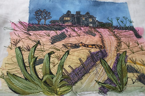 Perspective landscape in stitch masterclass with Alison Moger AM002