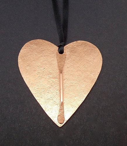 Copper Line Pendant