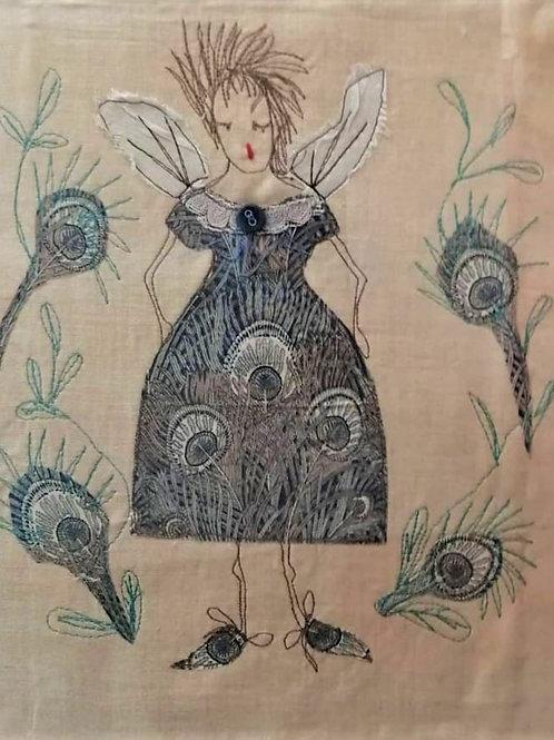 'Best Dress' machine embroidery