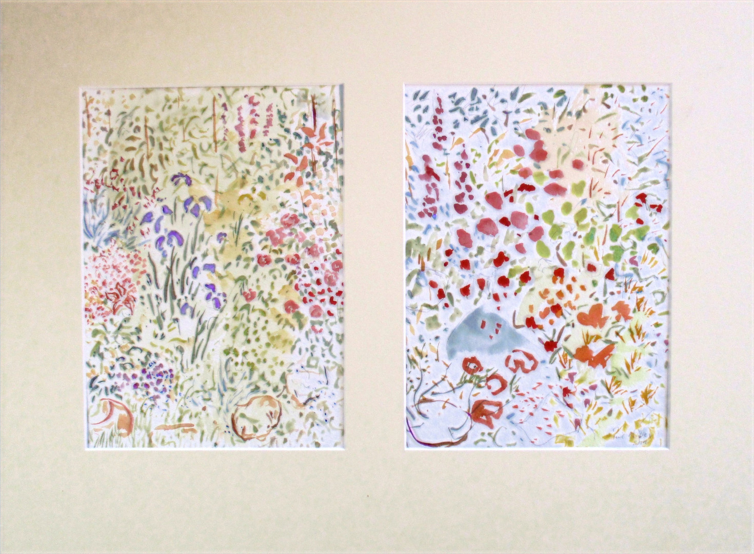 Two Studies of a Garden