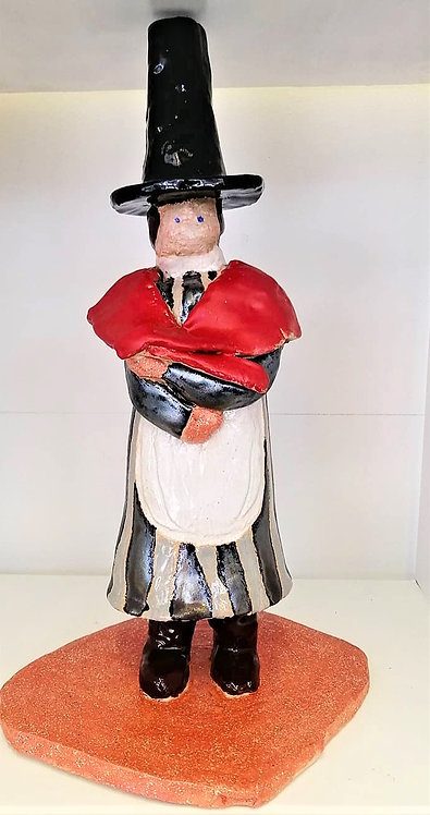 Medium Welsh Woman with Tall Hat