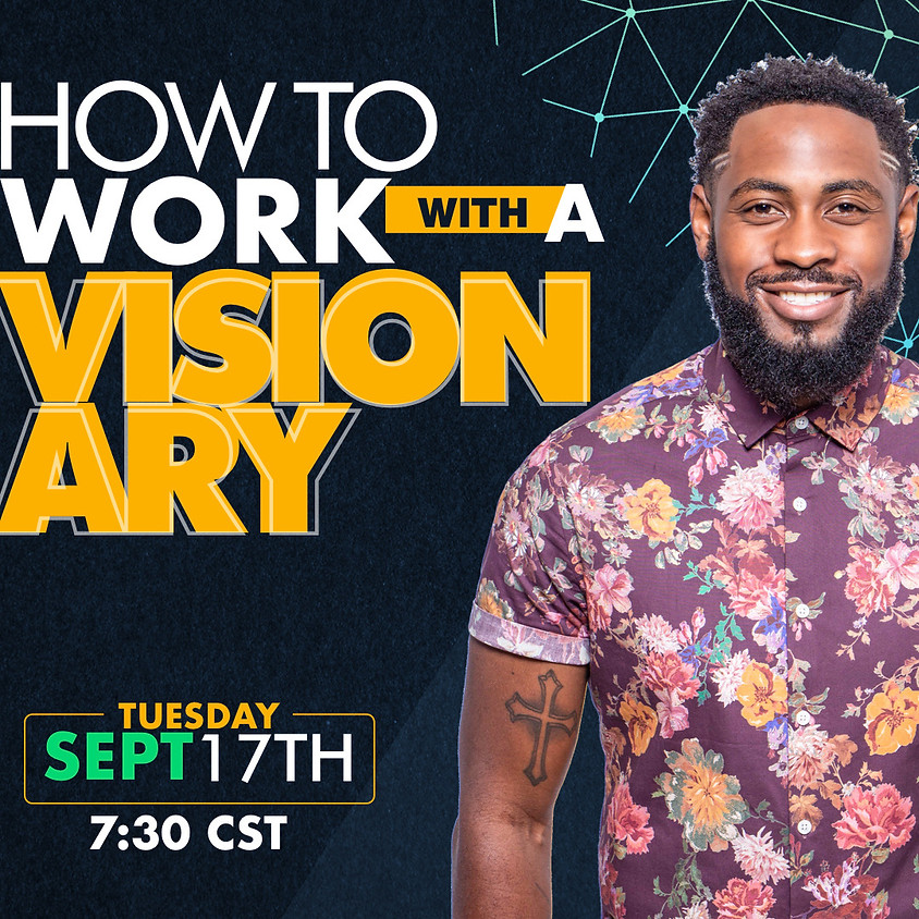How To Work With A Visionary