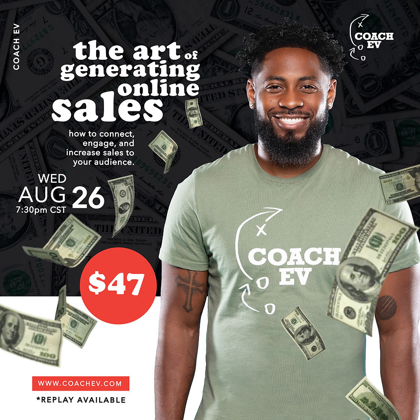The Art Of Generating Online Sales