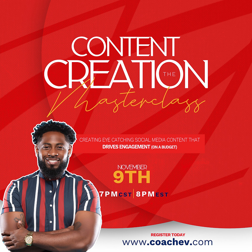 Content Creation: The Masterclass