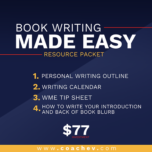 Book Writing Made Easy (Resource Packet)