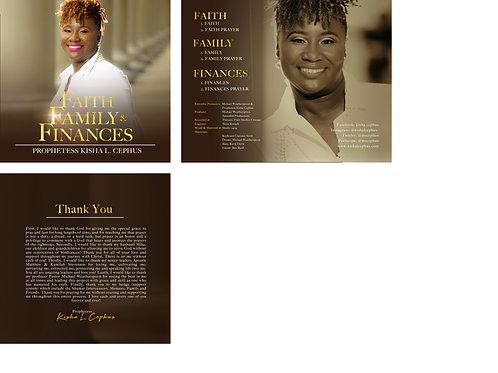 Faith, Family & Finances Prayer CD