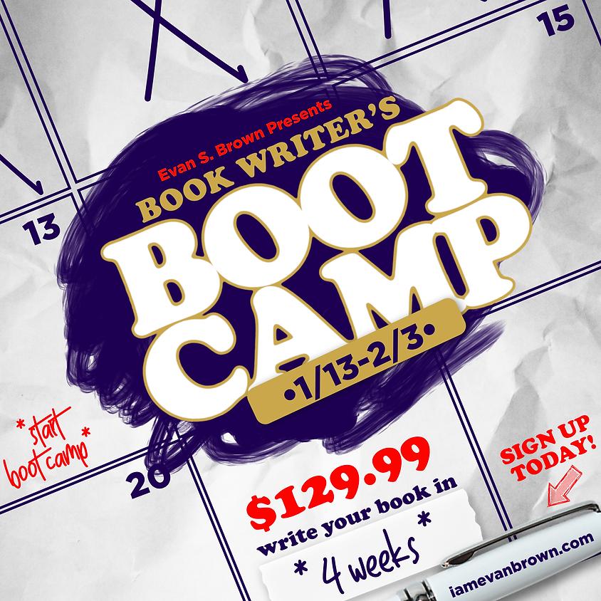 Book Writers BootCamp (virtual)