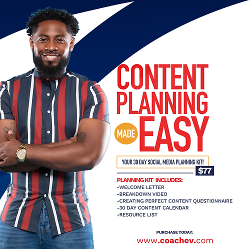 Content Planning Made Easy (30 Day Content Planner)