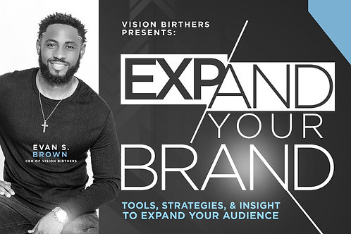 Expand Your Brand: Course Replay