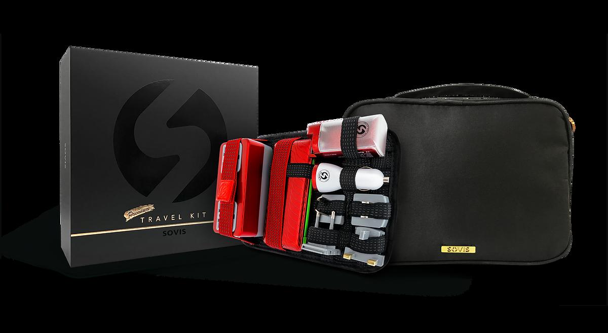 INTEGRATED & SMART travel kit (Universal Travel Power Solution Organizer