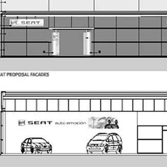 SEAT Automotive Showrooms