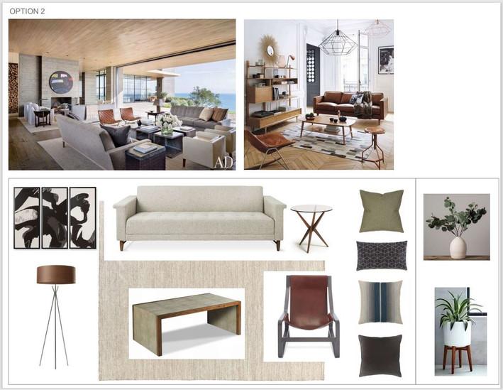 Mid Century Modern Style - Option 2