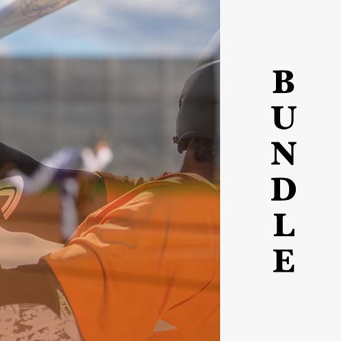Baseball Hitter and Pitcher Pro Evaluation Bundle