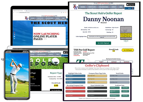 TSH Coach Golf Software Page Image 7x5-