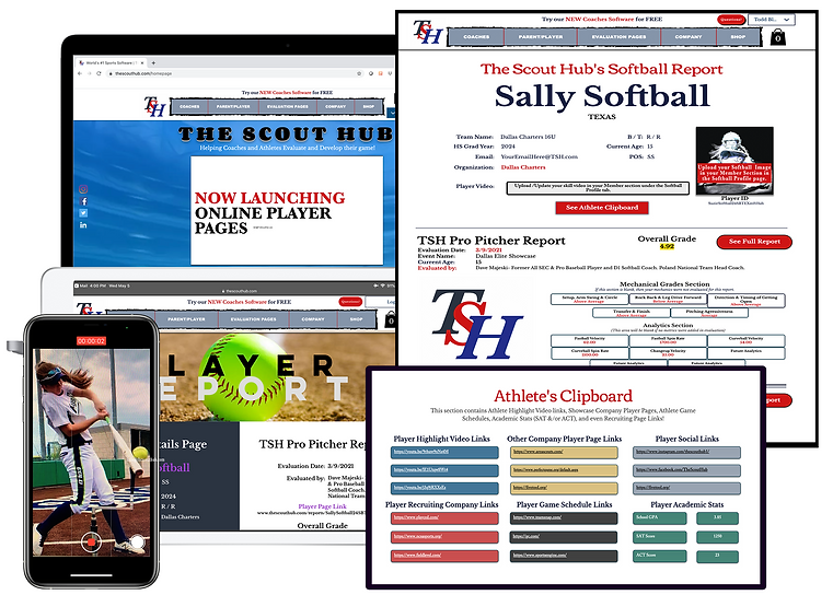 TSH Softball Coach Software Page Image 7