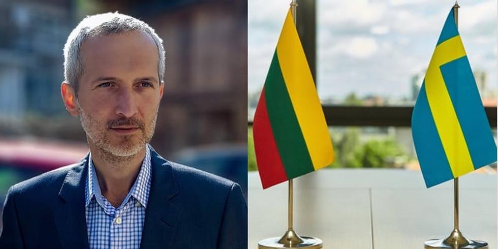 Meeting with Aleksandras Laurinavičius