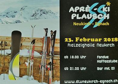 Après-Ski Plausch des DTV Neukirch-Egnach